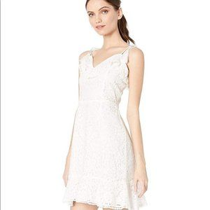 Cupcakes & Cashmere Loma Lace Fit and Flare Dress